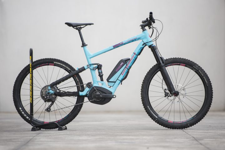 E-Bike E-Trailster 8.0 18 Bergamont Mountain Ride La Palma