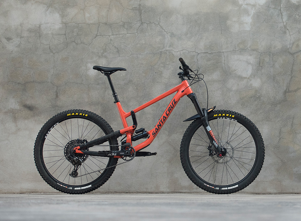 Santa Cruz Bicycles Leih-Fully La Palma