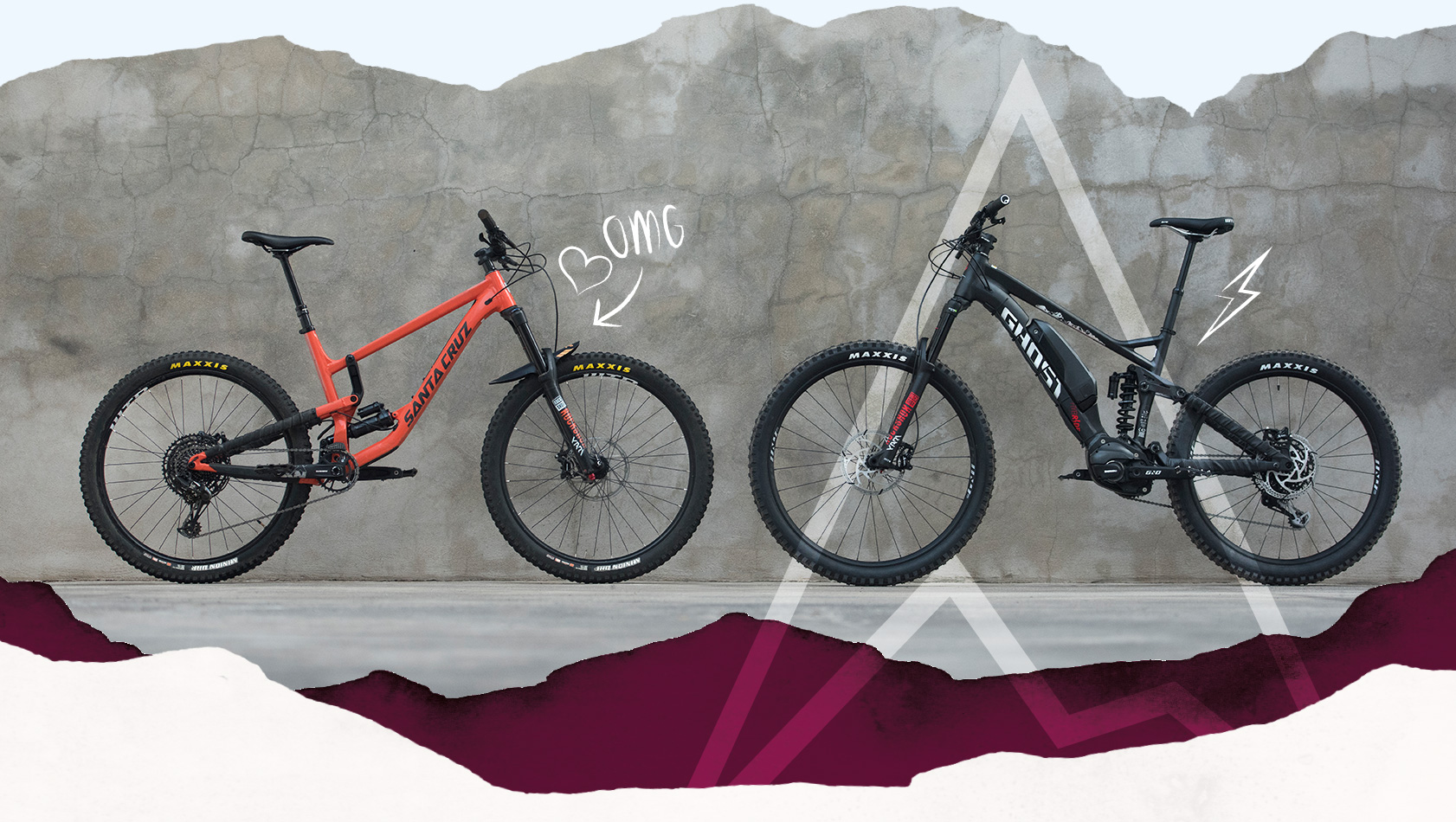Leih-Mountainbikes