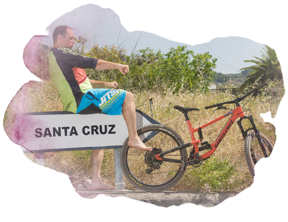 rent a bike Santa Cruz Bicycles La Palma
