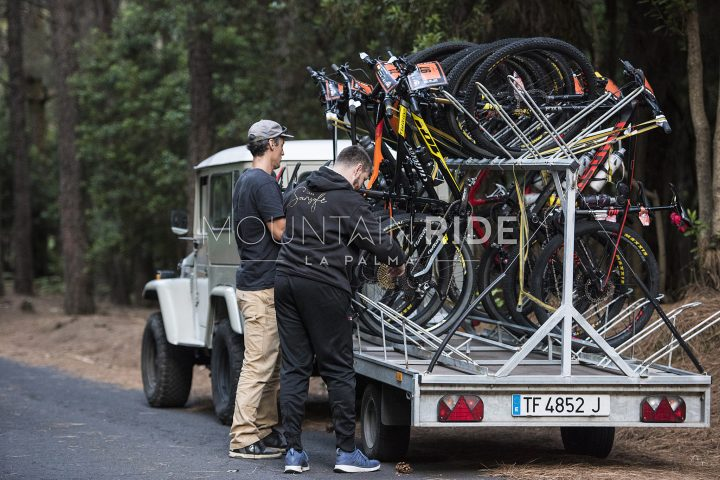 Abladen der nächsten Bikes