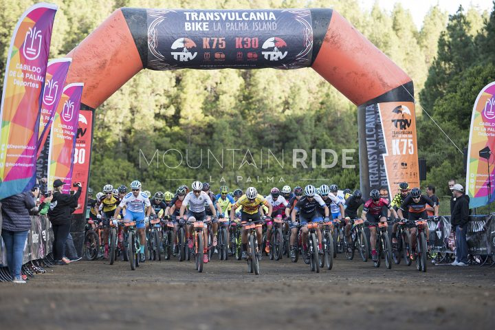 Start der Transvulcania Bike 2019 K75