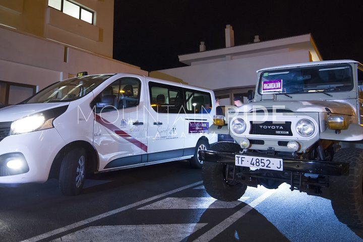 2. Reihe Transportfahrzeuge für zeitversetzten Start