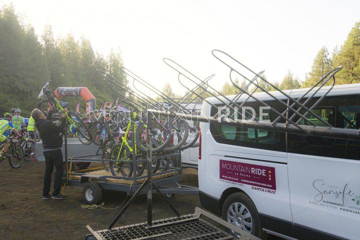 Abladen der K30 Bikes