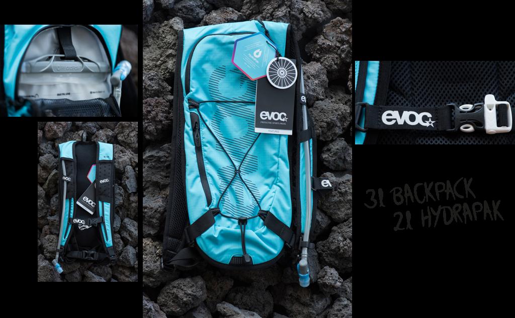 EVOC CC 3 L Rucksack inkl. Trinkblase