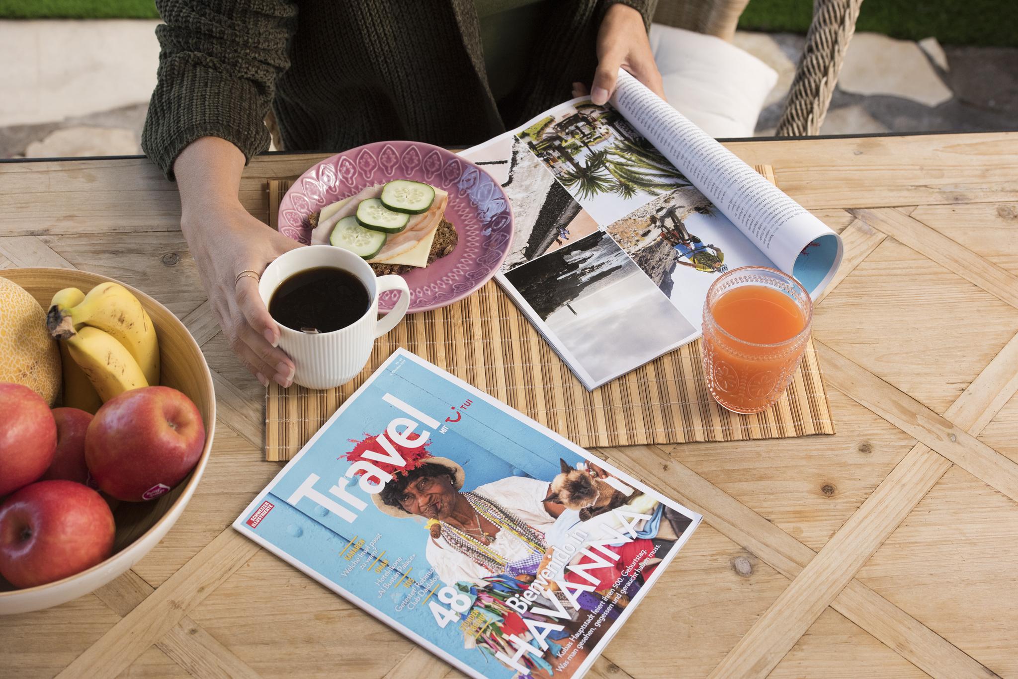 """Bericht im """"Travel mit TUI"""" Magazin"""