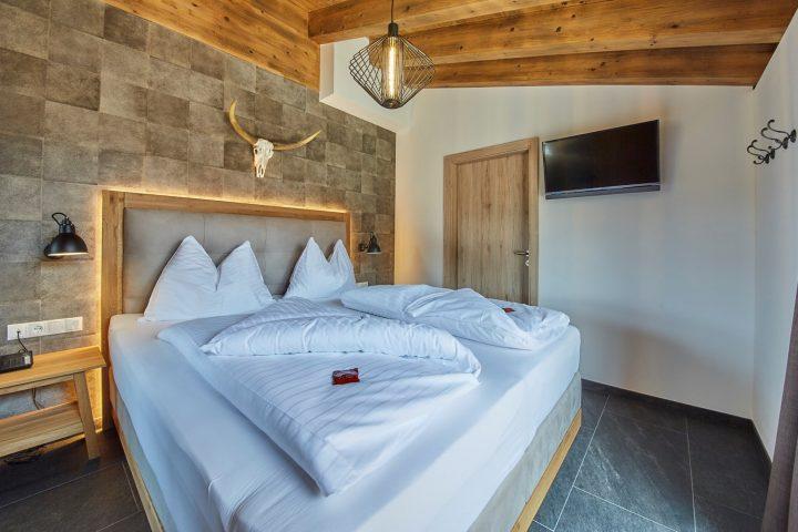 Unterkunft im neu gebauten AlpenParks Sonnenleiten