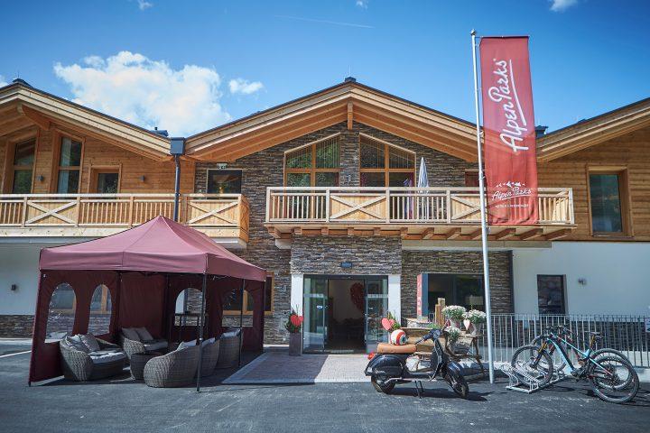 Eingangsbereich Alpenparks Sonnleiten