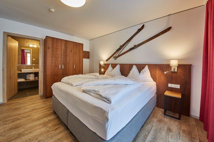 Schlafzimmer im Alpenparks Sonnleiten