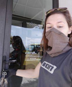 Lockdown, das Ladengeschäft bleibt erst mal geschlossen