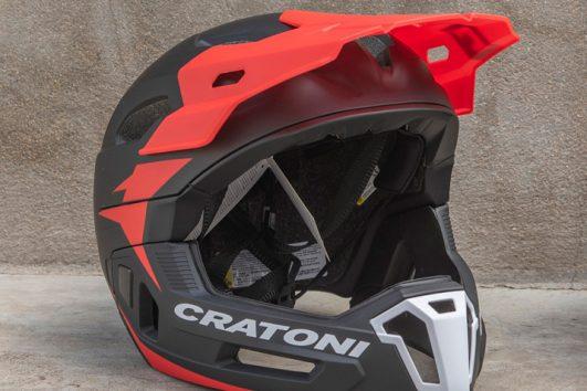 Cratoni C-Maniac 2.0 MX negro rojo