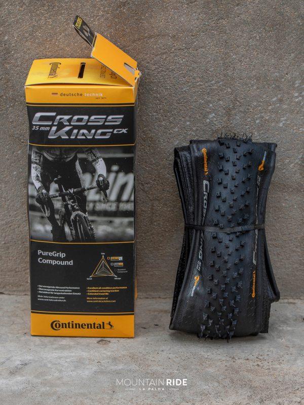 CONTINENTAL Cubierta CrossKing CX 35mm