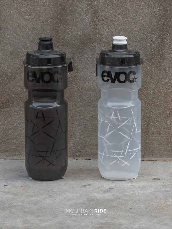 EVOC drink bottle 750ml black clear