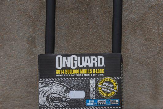 OnGuard 8014 bulldog mini ls u lock 65