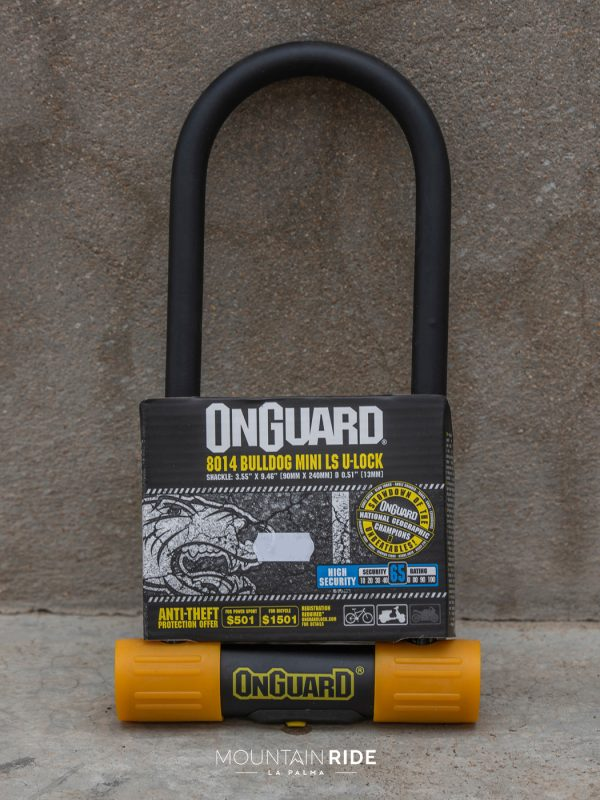 OnGuard 8014 bulldog mini ls u lock 65
