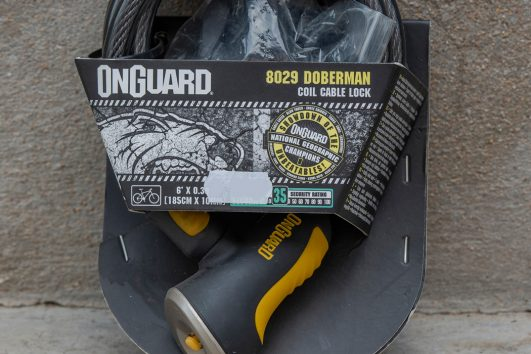 OnGuard 8029 doberman coil cable lock 35