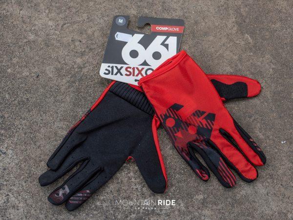 SIXSIXONE COMPGLOVE rojo negro