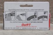 STANS NO TUBES dart dual action repair for tubeless tool and two darts
