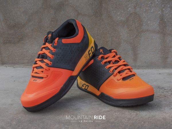 Specialized 2FO zapatos flat MTB naranja