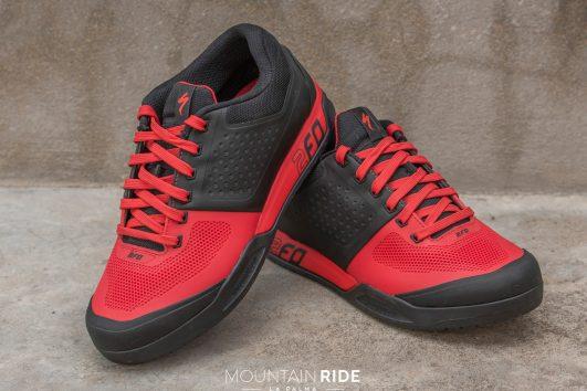 Specialized 2FO zapatos flat MTB rojo