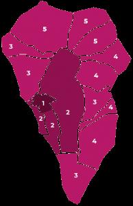 Zonas de envio La Palma