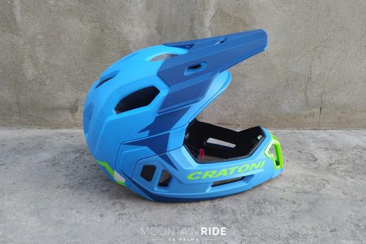 casco integral plegable cratoni