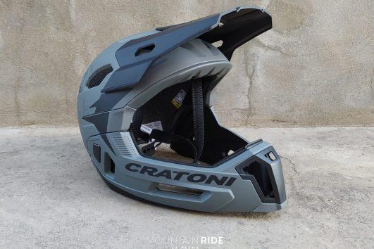 casco integral cratoni gris negro comprar en la palma