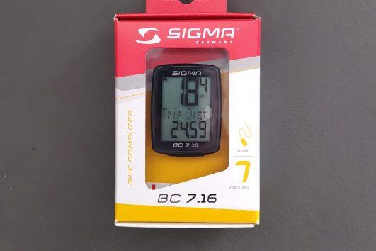 SIGMA BC 7.16 bike computer