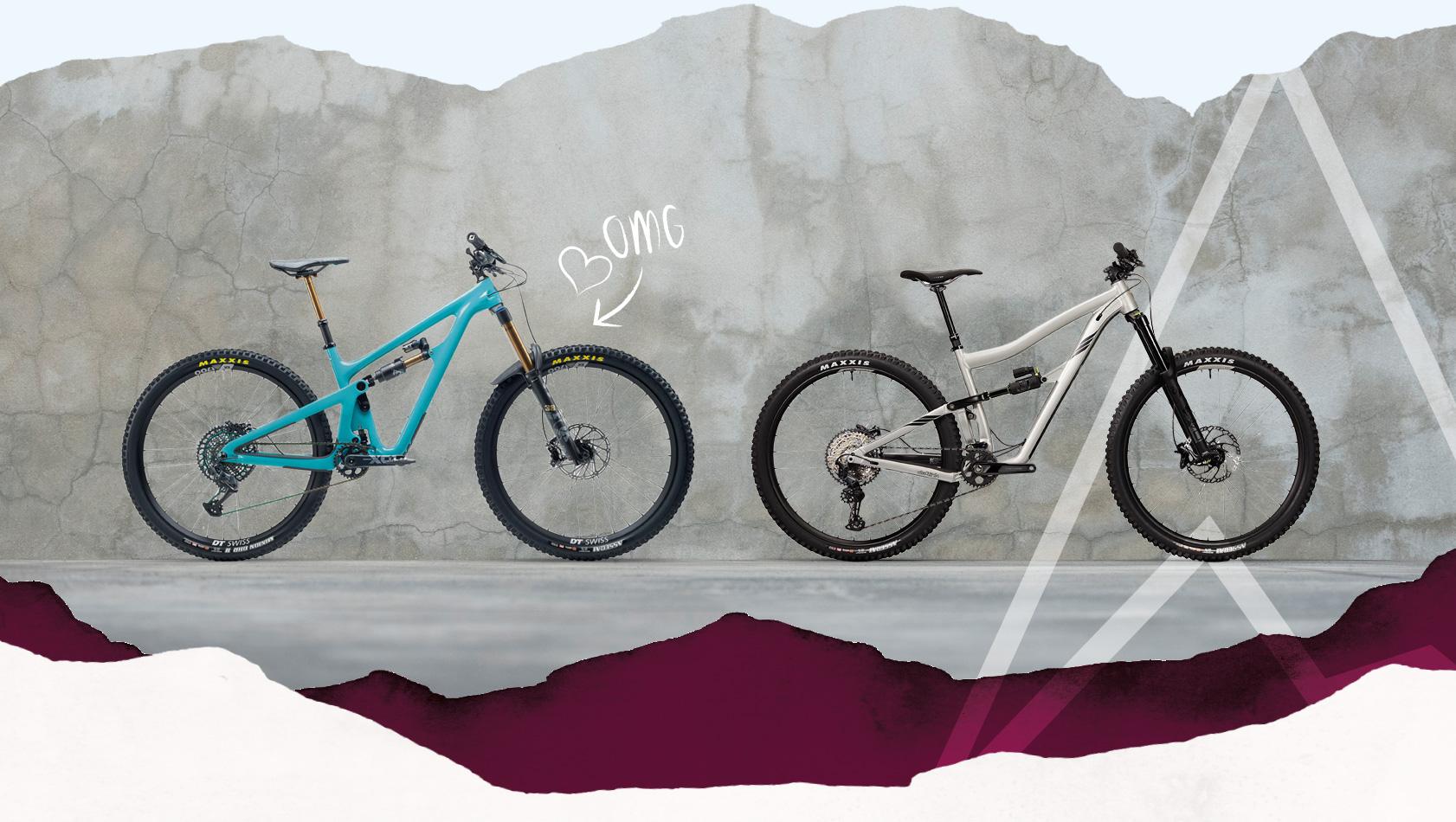 Leih-Mountainbikes